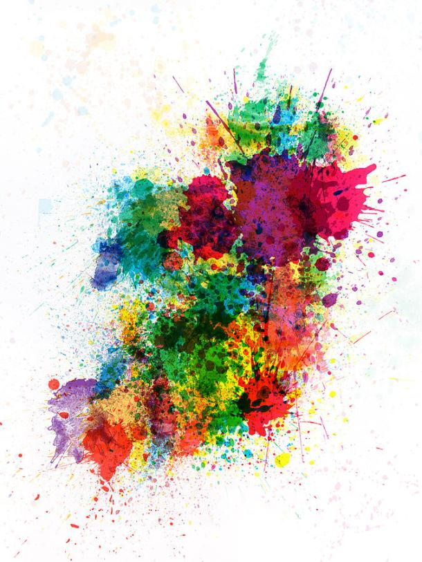 ireland-map-paint-splashes-michael-tompsett