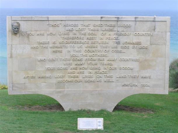 Atatürk'ü Çanakkale'de yaşamını yitirenler ile ilgili sözleri.